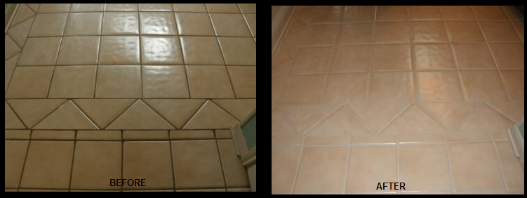 Commercial Tile Grout Repair